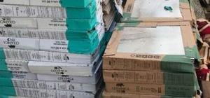 İnşaattan 120 paket fayans çalan hırsızlar yakalandı