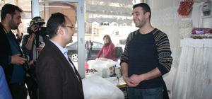 Uşak Belediye Başkanı Nurullah Cahan, Kilis'i ziyaret etti