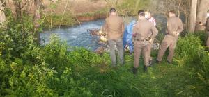 Adana'da kayıp kişinin cesedi derede bulundu