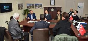 Başkan Doğan, CHP'lilere Cedit'teki kentsel dönüşümü anlattı