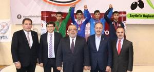 Türkiye Genç Erkekler Grekoromen Güreş Şampiyonası'nın açılış töreni yapıldı
