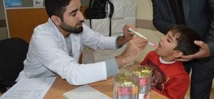 Nusaybin Belediyesinden şeker tadında sağlık hizmeti