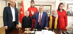 İstiklal Özel Mesleki Eğitim Merkezi öğrencileri Melikgazi'de