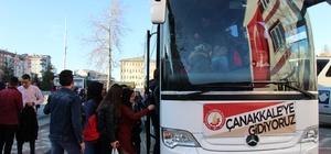 Seydişehirli lise öğrencileri Çanakkale'ye gidiyor