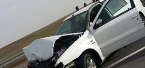 Ağrı'da trafik kazası: 3 yaralı