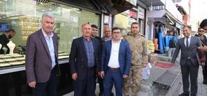 Kaymakam Çetin'den esnaf ziyareti