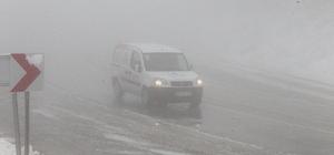 Kırklareli'nde yoğun sis