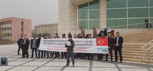Öğrenciler, terör destekçilerini kınadı