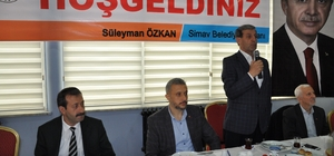 Başkan Özkan eğitimcilerle buluştu