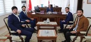 Şaphane Meslek Yüksekokulu öğrencileri, Vali Ahmet Hamdi Nayir'i ziyaret etti