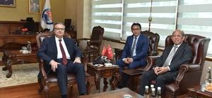 Endonezya'nın Ankara Büyükelçisi Wardana Mersin'de