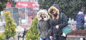Trakya'daki kar yağışı