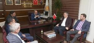 Başkan Toçoğlu: İl Başkanı Kılıç'ı ziyaret etti