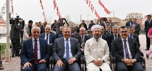 Diyanet İşleri Başkanı Erbaş Kur'an Kursu açılışı yaptı