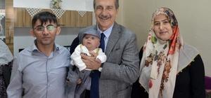 Başkan Ataç 'Hoş Geldin Bebek' ziyaretlerini sürdürüyor