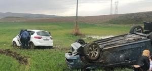 Çorum'da aynı yerde 2 trafik kazası: 8 yaralı