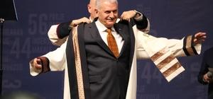Başbakan Binali Yıldırım'a Hasan Kalyoncu Üniversitesinden fahri doktora
