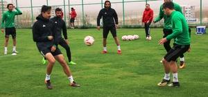 Şanlıurfaspor, Karşıyaka maçının hazırlıklarını sürdürüyor