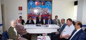 Türk Eğitim Sen Genel Başkanı Geylan'dan Mehmetçik ve Kilis'e destek