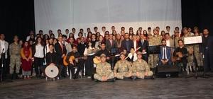 """""""Çanakkale'den Afrin'e Kahramanlık Destanı"""" Oratoryosu düzenlendi"""