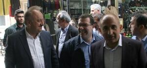 Kastamonu Belediye Başkanı Tahsin Babaş destek için Kilis'te