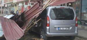 Doğu Anadolu'da şiddetli rüzgar ve fırtına