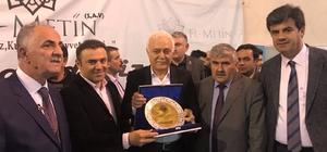 Erzurum'da Prof. Dr. Nihat Hatipoğlu izdihamı