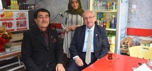 Başkan Albayrak'tan yeni açılan işletmelere hayırlı olsun ziyareti