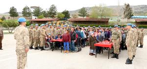 Tokat'ta engelli öğrencilerden komando yemini