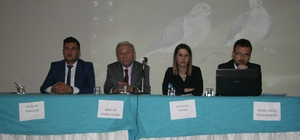 """Kilis'te """"Kadına Şiddet"""" paneli"""