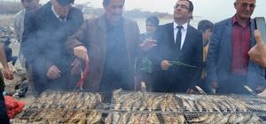 Adilcevaz'da 'ayran aşı ve balık' festivali