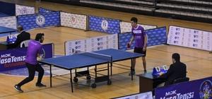 OMÜ'de 3. Uluslararası Masa Tenisi Turnuvası başladı