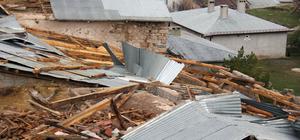GÜNCELLEME - Sivas'ta şiddetli rüzgar