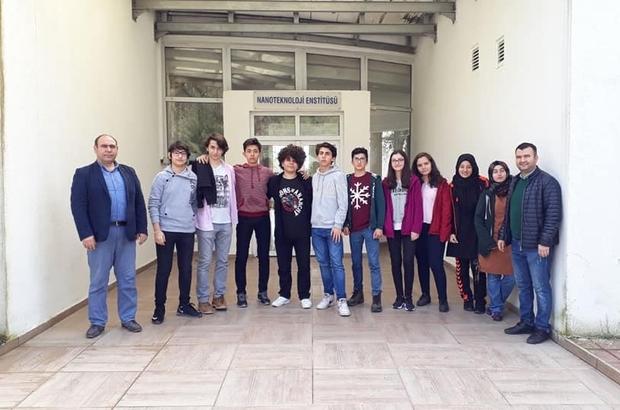 Lisede 'Gezi-Bilim-Yorum' projesi