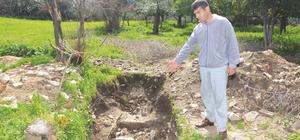 Tarihi eser bulunan evin bahçesindeki kaçak kazıya 16 gözaltı