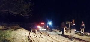 Kayseri'de 2 kişi aracın içinde ölü olarak bulundu
