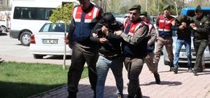 Büyükbaş hayvan hırsızlığı şüphelileri adliyede Konya, Erzincan, Sivas ve Karaman'da büyükbaş hayvan hırsızlık olayına karışan şüpheli 7 kişi adliyeye sevk edildi