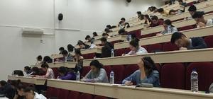 Öğrencilerin YKS provası