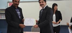 Çeltik'te başarılı kursiyerlere sertifikaları verildi