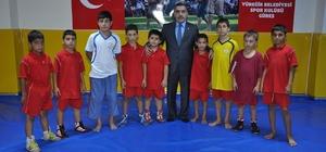 """Başkan Çelikcan: """"Çukurova'da güreşi geliştireceğiz"""""""
