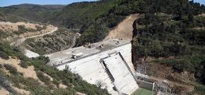 Karamürsel İhsaniye barajı gövde dolgusu yükseliyor