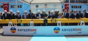 """Bakan Özhaseki: """"Türkiye'nin enerji ihtiyacı her geçen yıl artmakta"""" Tomarza'ya 26 milyon liralık doğalgaz yatırımı"""