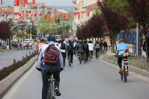 Edirne'de Turizm Haftası etkinlikleri Bisiklet turuyla kentin destinasyon alanları gezildi