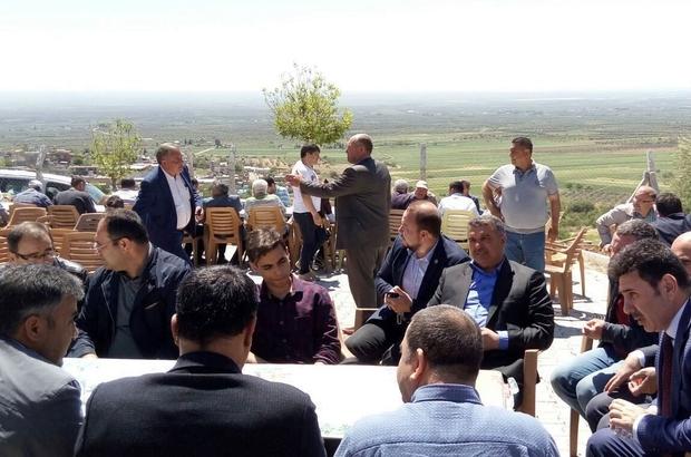 """Kilis'te """"Ziyarete Çıkma"""" etkinliği Rektör Prof. Dr. Karacoşkun, Acar Köyü'nde düzenleen etkinliğe katıldı"""