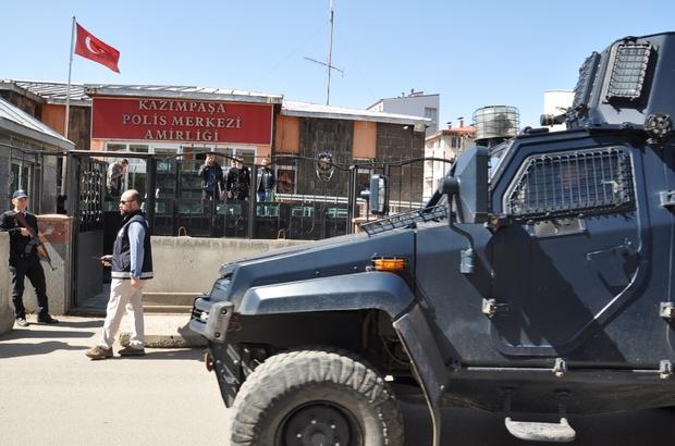 Kars'ta cinayet zanlıları adliyeye sevk edildi