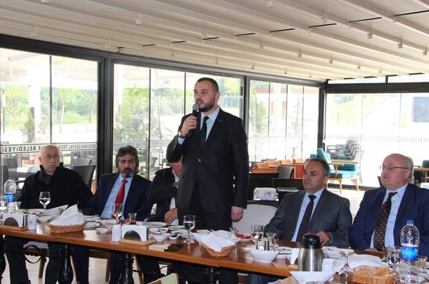 MÜSİAD Dost meclisinde Kardüz konuşuldu Düzce işlenmemiş bir pırlanta