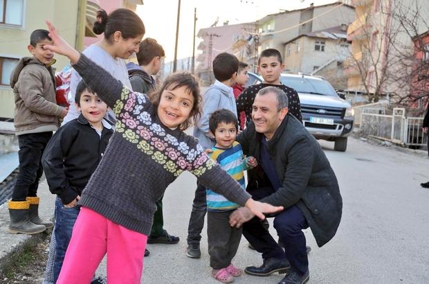 Hayalleri gerçekleştiren Vali Tunceli Valisi Sonel, yetim ve öksüz çocukların hayallerini gerçekleştiriyor