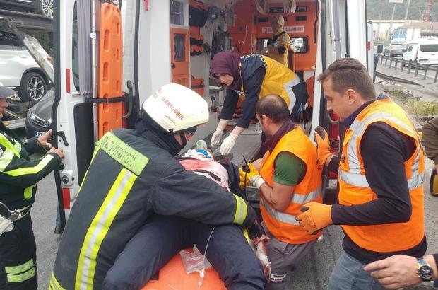 Kazaya neden olan sürücü gözaltında Kocaeli TEM'deki kaza için Valilikten açıklama