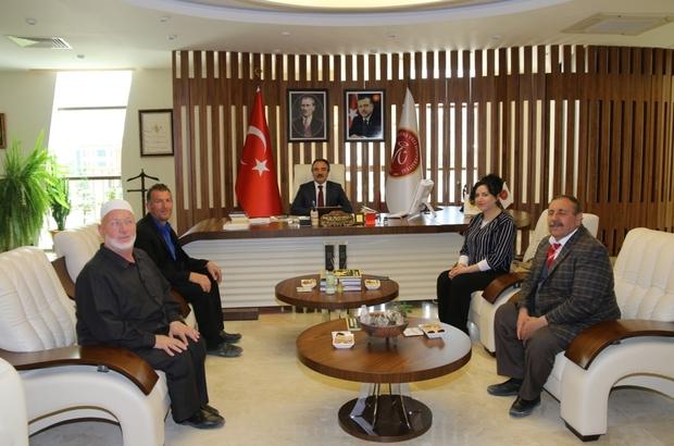 GÖRBİR'den NEVÜ Rektörü Prof. Dr. Bağlı'ya ziyaret