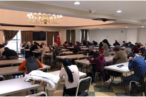 Kuzey Amerika Programı sınavları gerçekleştirildi Açıköğretim Fakültesi KAP sınavları